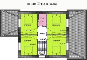 Проект дома м875