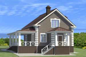 Проект дома м884