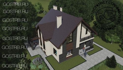 проект дома м877