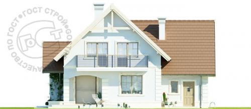 Проект дома м306