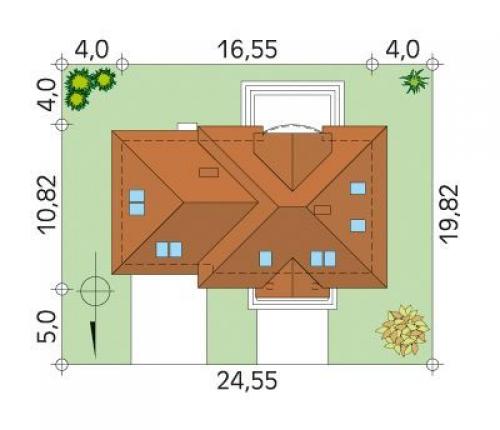 Проект дома м185