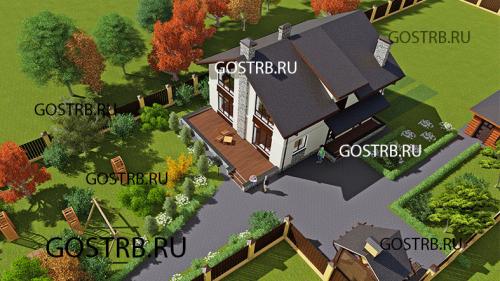 проект дома м5218