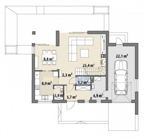 Проект дома м273