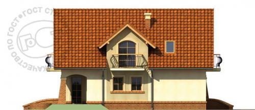 Проект дома м281