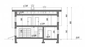 Проект дома м212