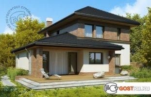 Проект дома д428