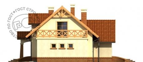 Проект дома м457