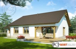 Проект дома м260